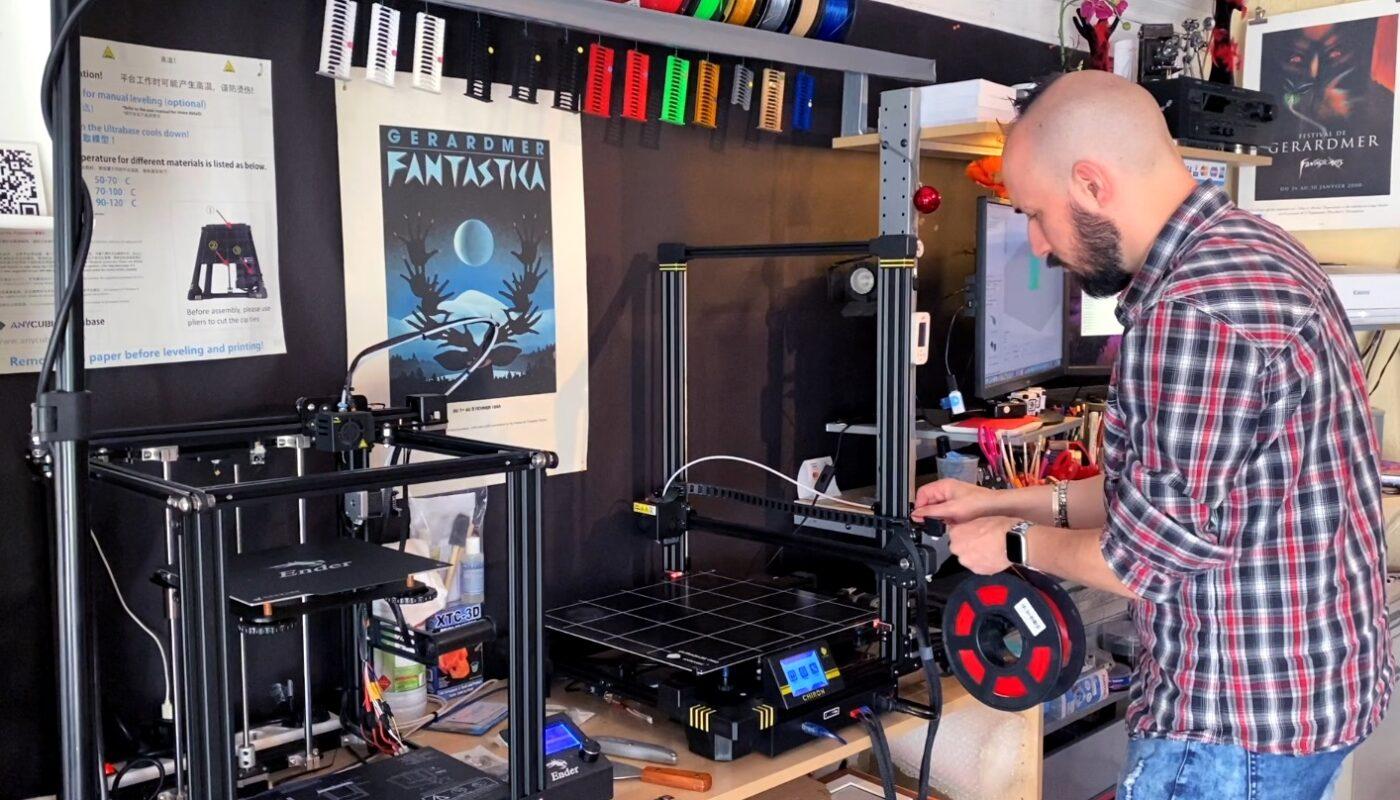 Processus d'impression 3D
