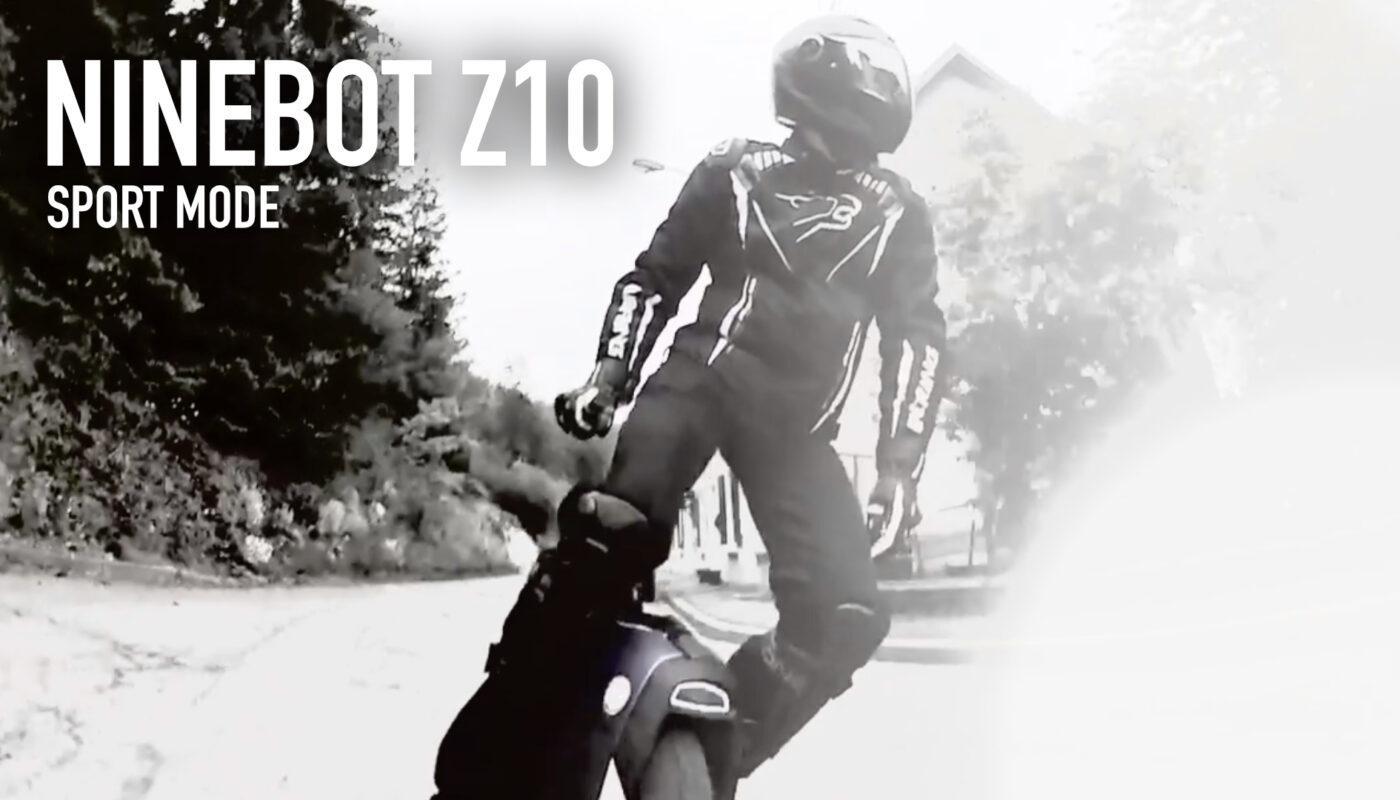Vidéo : Z10 sport mode